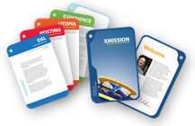 XMission Brochure Cards